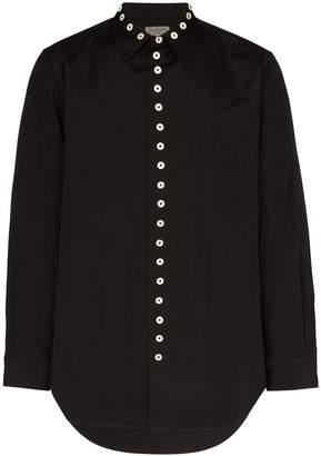 Yohji Yamamoto button-up oversized shirt