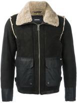 Diesel shearling jacket