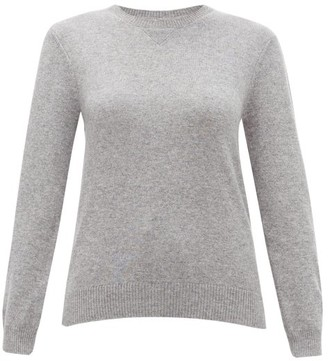 Derek Rose Finley Cashmere Sweater - Womens - Silver