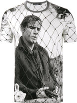 Dolce & Gabbana Marlon Brando photography printed T-shirt - men - Cotton - 44