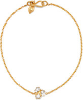 Pippa Small 18-karat Gold Diamond Bracelet - one size
