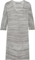 Raquel Allegra Tie-dyed cotton mini dress