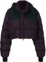 Unravel Project padded cropped jacket