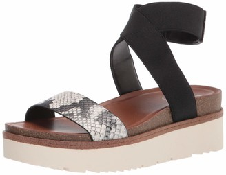 Franco Sarto Womens Parton Natural Sport Sandals 7 M Beige