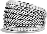 David Yurman Wheaton Band Ring with Diamonds