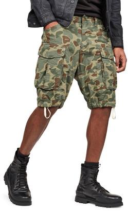 G Star Men's Rovic Relaxed Camo Cargo Shorts