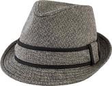 San Diego Hat Company Tweed Fedora with Contrast Trim SDH9443 (Men's)