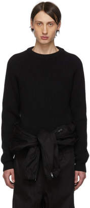 Maison Margiela Black Gauge 5 Sweater