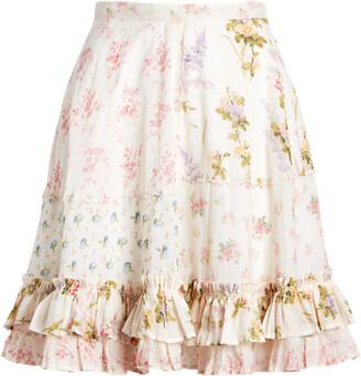 Ralph Lauren Floral Tiered Skirt