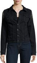 True Religion Studded Denim Jacket
