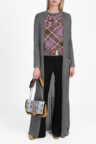 Missoni Ribbed Lam Long Cardigan