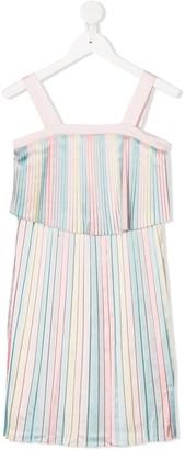 Billieblush Tiered Pleated Dress