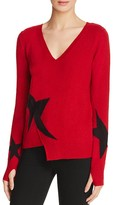 Pam & Gela Star Intarsia Sweater