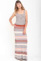 Goddis Farrow Maxi Skirt In Riverbank
