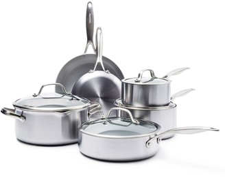 Green Pan Venice Pro 10-pc. Ceramic Nonstick Cookware Set