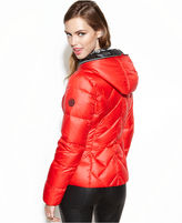 GUESS GUESS? Hooded Quilted Puffer