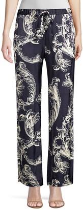 Stine Goya Aileen Wide Leg Printed Pants