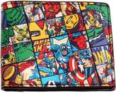 Marvel The Avengers Comic Book Print Bifold Wallet