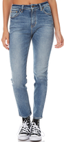 Lee Womens Skinny Straight Jean Blue