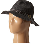 Steve Madden Wide Brim Fedora with Hat Band