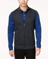 Tasso Elba Men's Herringbone Full-Zip Vest, Created for Macy's
