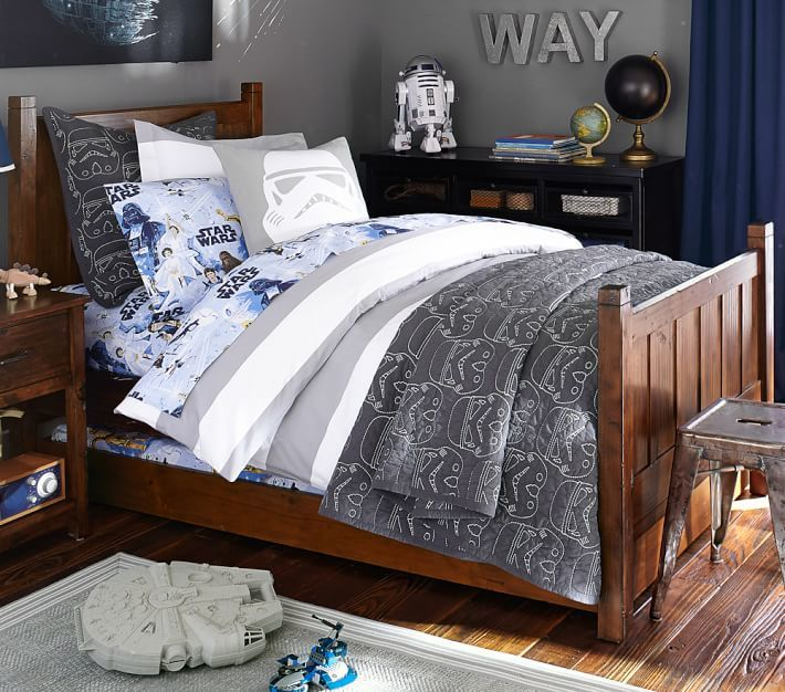 Pottery Barn Kids Camp Bed & Luxury Firm Mattress Set, Twin, Luxury Firm Mattress, Simply White