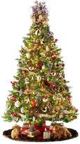 JCPenney General Foam Plastics 7.5' Pre-Lit Balsam Fir Christmas Tree