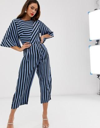 AX Paris mix stripe jumpsuit