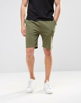 Asos Jersey Shorts In Green