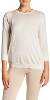 Magaschoni Silk & Cashmere Pullover Sweater