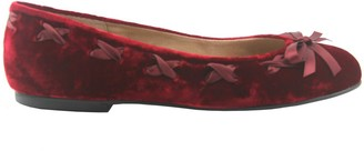 French Sole Edie Velvet Ballet Flat