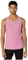 MENS FITTED RUBBER SLEEVELESS SHIRT