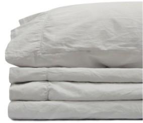 Jennifer Adams Home Jennifer Adams Relaxed Cotton Sateen California King Sheet Set Bedding
