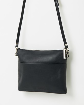 Stitch & Hide - Women's Black Leather bags - Juliette Clutch Bag - Size One Size at The Iconic