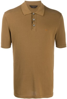 Ermenegildo Zegna Xxx Short Sleeve Polo Shirt