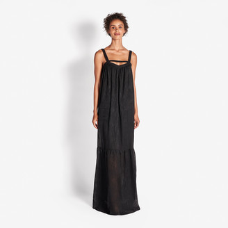 Rachel Zoe Lula Fil Coupe Maxi Dress