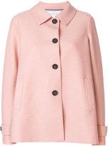 Harris Wharf London single breasted short coat