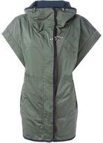 Fay high collar shortsleeved jacket - women - Polyester - S