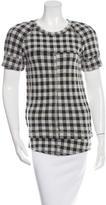 Etoile Isabel Marant Printed Short Sleeve Top