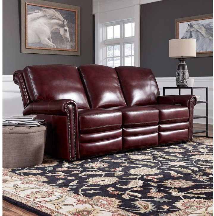 Burgundy Leather Sofa Shop The World S Largest Collection Of Fashion Shopstyle