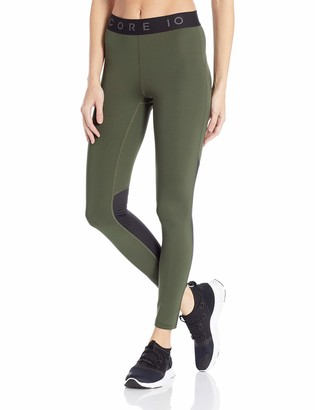 Core Products Amazon Brand - Core 10 Women's Standard Lightweight Compression Full-Length Legging