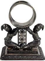 One Kings Lane Vintage Jesters Silver Napkin Ring