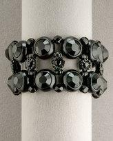 Wide Crystal Bracelet