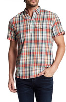 Bonobos Plaid Split Neck Shirt