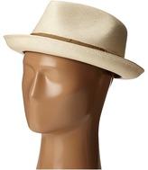 Carlos by Carlos Santana Pinch Front Shantung Fedora Fedora Hats