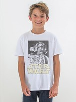 Junk Food Clothing Kids Boys Star Wars Tee-electric White-l
