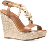 MICHAEL Michael Kors Holly Espadrille Wedge Sandals