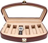 Bey-Berk Bey Berk Leather 6-Watch Case