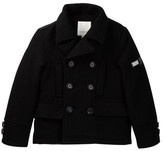 Diesel Peacoat with Bubble Back Panel (Big Boys)