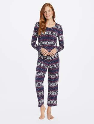 Draper James Long Sleeve PJ Set